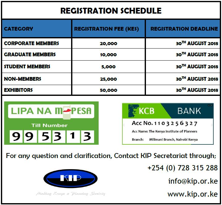 Registration Schedule
